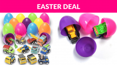 Prextex Toy Filled Easter Eggs