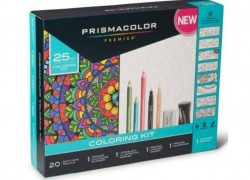 Prismacolor Adult Coloring Book Kit Only $9.91 (Reg. $24.97)!