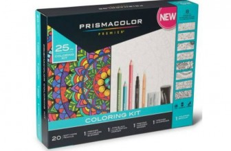 Prismacolor Adult Coloring Book Kit Only $9.91 (Reg. $24.97)!