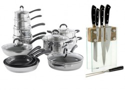 Win a Cookware and Knife Set plus more!