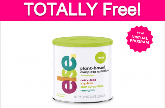 Totally Free Else Plant-Based Toddler Formula