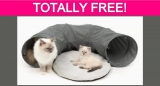 TOTALLY Free Cat Tunnel!