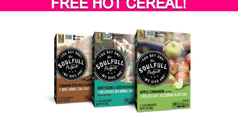 Totally Free Hot Cereal!