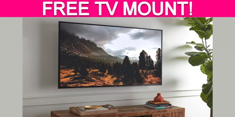 TOTALLY Free TV Mount!