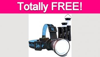 Possible Free Lantern, Flashlight, or Headlamp!