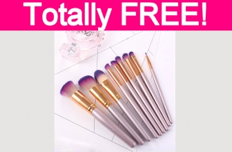 Free Professional Makeup Brushes!