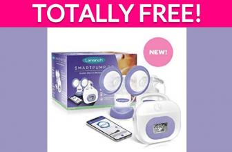 Free Lansinoh Breast Pump!