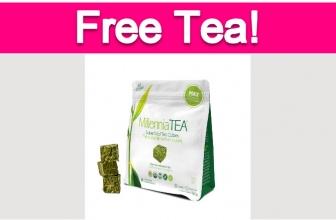 Possible Free Millennia Tea Frozen Tea Cubes!
