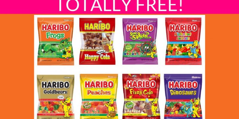 Totally Free Gummies Candy!