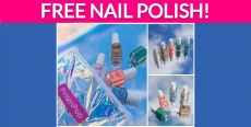 5 Free Bottles of Nail Polish!