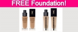 Possible Free Matte Finish Foundation!