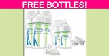 Totally FREE by mail Dr. Brown's Baby Bottles!