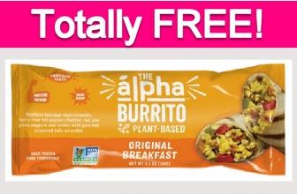 Possible Free Breakfast Burrito!