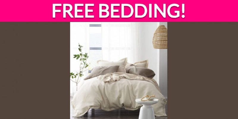 Totally Free Bedding!