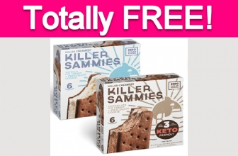 Possible Free Sugar-Free Ice Cream Sandwiches!
