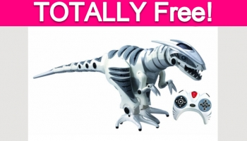 Possible Free Remote Controlled Dinosaur Toy!