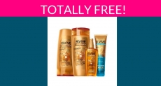 Totally Free L'Oreal Paris Elvive Haircare Products!