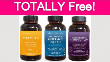 Possible Free Viva Naturals Dietary Supplements!