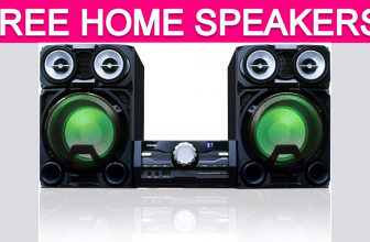 TOTALLY Free Home Speaker System!