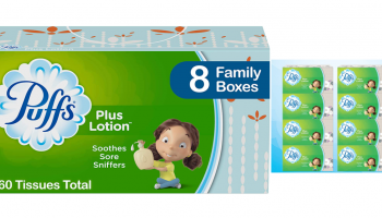 IT'S BACK! Puffs Tissues 24 Boxes – Stacking Savings!