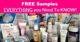 EVERYTHING on Getting Free Samples By Mail