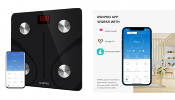 STACKING CODES! Best Price on Renpho Bluetooth Scale!