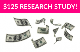 Free $125 Beverage Research Study!