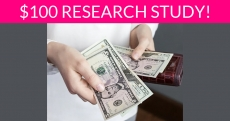 Free $100 Banking Research Study!