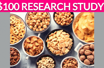 FREE $100 Snacks Research Study!