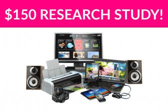 $150 Electronics Research Study!
