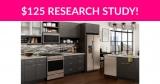 $125 Kitchen Appliances Research Study!