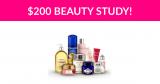 $200 Beauty Research Study