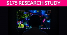Free $175 Gaming Research Study!