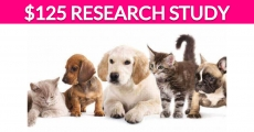 Free $125 Pet Research Study!