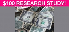 Free $100 Health Benefits Research Study