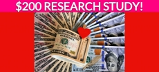 Free $200 Personal Care Research Study!