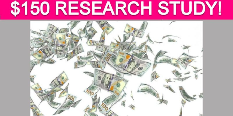 Free $150 Technology Research Study!