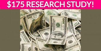 Free $175 Infant Formula Research Study!