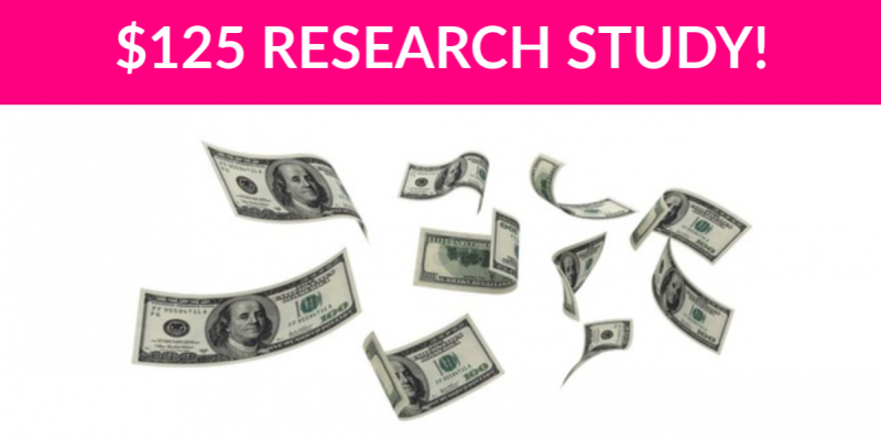 $125 Consumer Decisions Research Study
