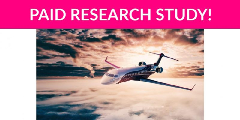 Free $100 Travel Research Study!