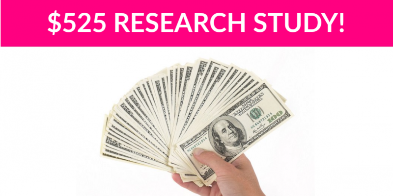 Free $525 Auto Purchase Research Study