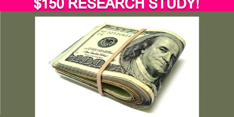 Free $150 Online Shopping Research Study!
