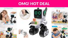 74% OFF! HBUDS Robots for Kids