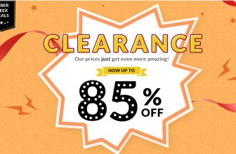 Presents + Clearance Up to 85% Off – What Could Be Better?