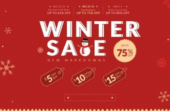 Winter Clearance Sale! Up to 80% OFF