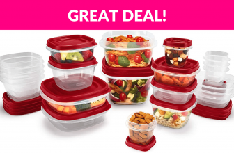 Rubbermaid Easy Find Vented Lids Food Storage Containers, Set of 21