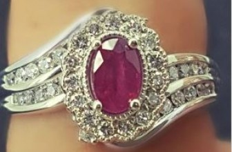 Win a 14K White Gold Diamond & Ruby Ring!