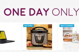 Better Than BLACK FRIDAY – ONE DAY SALE – Sams Club ( Get it By Christmas )