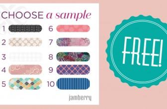 RUNNNN! Free Jamberry Samples!