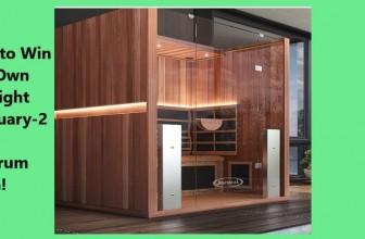 Win a Sauna Worth $6295!